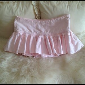 Abercrombie & Fitch Pink Cotton Skirt